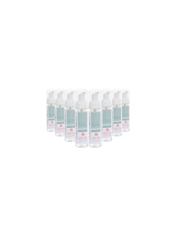 Case of eight 2.5oz Antibacterial Foam