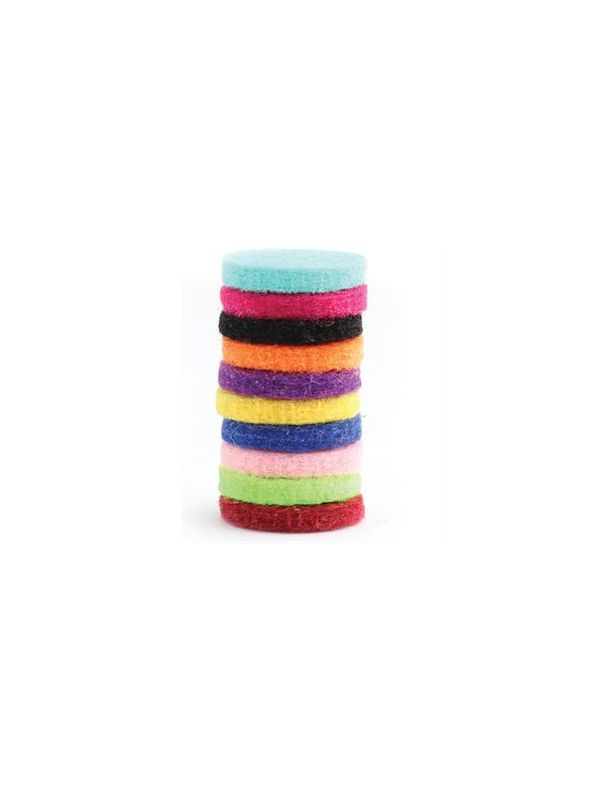 Assorted Colors of Scent-able Coins 10 Pack
