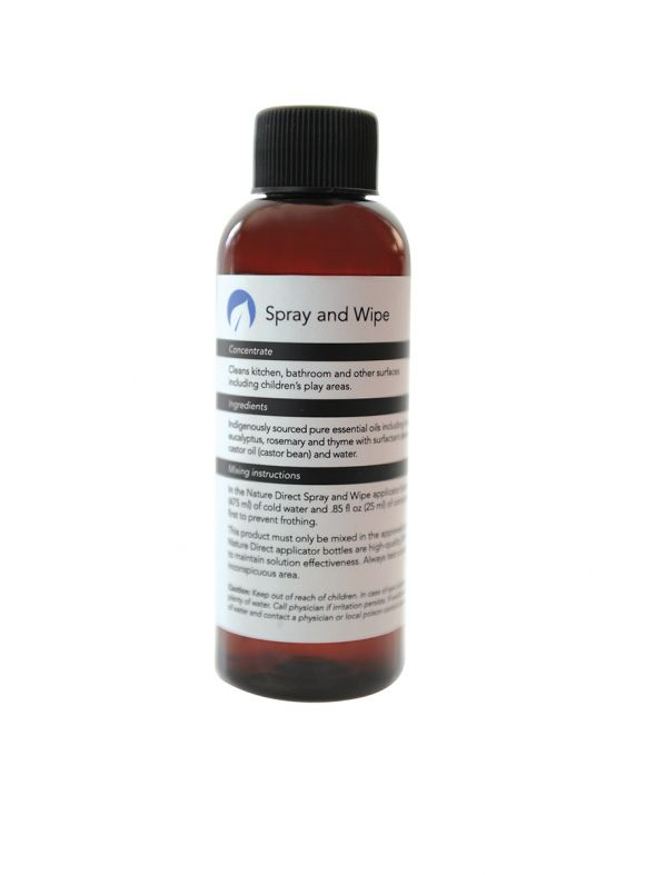 Nature Direct Spray and Wipe Concentrate - 125ml